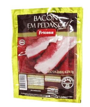 Bacon Fatiado Fricasa 180g