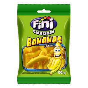 Bala Fini Bananas 100g