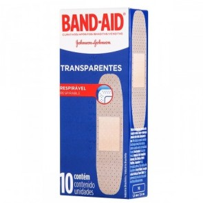 Band Aid Transparente 10unid.