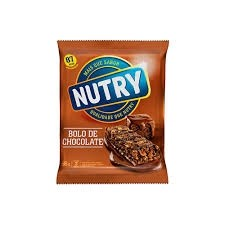 Barra de Cereal Bolo de Chocolate Nutry 66g c/3