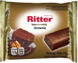 Barra de Cereal Brownie Ritter c/3