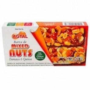 Barra Cereal Damasco e Quinoa Mixed Nuts Agtal 60g c/2