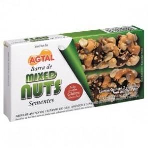 Barra Cereal Sementes Mixed Nuts Agtal 60g c/2