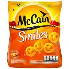 Batata Smiles Mc Cain 500g