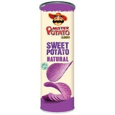 Batata Mr Potato sabor Batata Doce 160g
