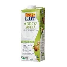 Bebida Arroz Avelã 1L Isola bio