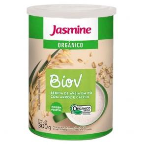 Bebida de Aveia em pó c/ Arroz e Cálcio BioV Jasmine 300g