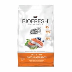 Alimento Para Gatos Castrados Biofresh Hercosul 1,5kg