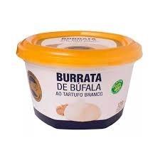 Burrata de Bufala ao Tartufo Branco Búfalo Dourado 120g