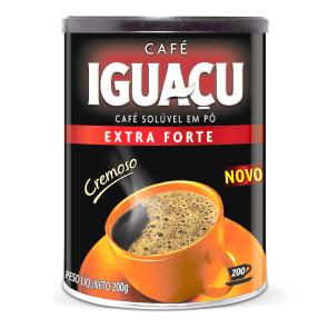 Café Extra Forte Pó Solúvel Iguaçu 200g