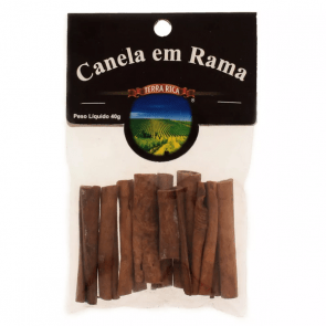 Canela em Rama Terra Rica 70g