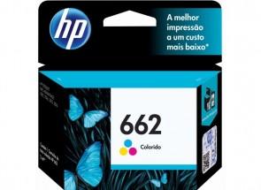 Cartucho Impressora HP 662 COLOR