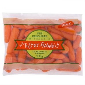 Cenoura Snack Mister Rabbit 100g