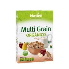 Cereal Orgânico a base de Milho, Trigo e Arroz Multi Grain Native 250g