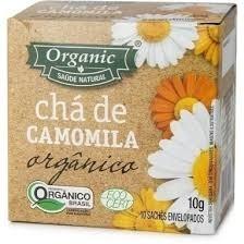 Chá de Camomila Orgânico Organic 10 saquinhos
