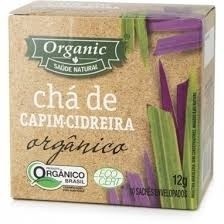 Chá de Cidreira Orgânico Organic 10 Saquinhos
