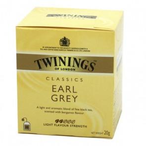 Chá Twinings Earl Grey 10 saquinhos