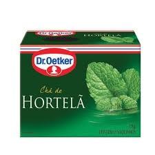 Chá Hortelã Dr. Oetker 15 saquinhos