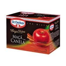 Chá Maçã e Canela Dr Oetker c/ 15 saquinhos 30g