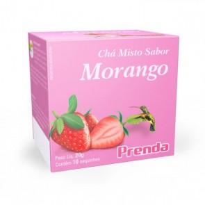 Chá Misto Morango Prenda 10 saquinhos