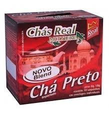 Chá Preto Real 10 saquinhos