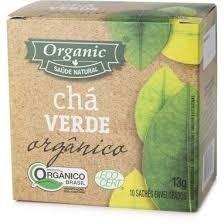 Chá Verde Orgânico Organic 10 saquinhos
