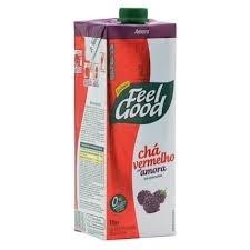 Chá Vermelho com Amora Feel Good 1 L