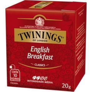 Chá English Breakfast Twinings C/ 10 Saquinhos