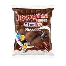 Bisnaguinha Chocolate Seven Boys 250g