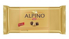 Chocolate em Barra Alpino 100g