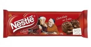 Chocolate ao Leite para Cobertura Nestlé 500g