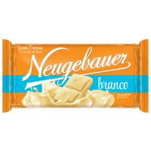 Chocolate Branco em Barra Neugebauer 120g