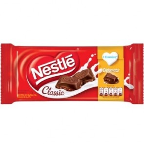 Barra de Chocolate Diplomata Classic Nestlé 118g