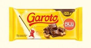 Chocolate Garoto Castanha de Caju 100g