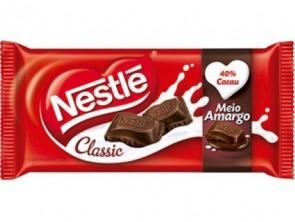 Chocolate Meio Amargo Classic Nestlé 100g