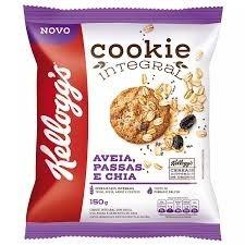 Cookies Integrais Aveia Passas e Chia Kelloggs 150g