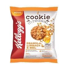 Cookies Integrais Granola Linhaça e Mel Kelloggs 150g