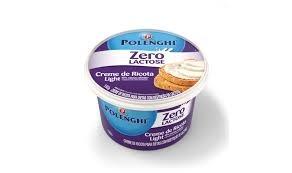 Creme de Ricota Zero Lactose LGT Polenghi 150g