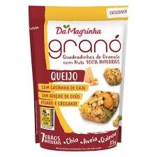 Da Magrinha Quadradinhos de Granola com Nuts Queijo com Castanha de Caju