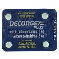 Decongex Plus com 4 Comprimidos
