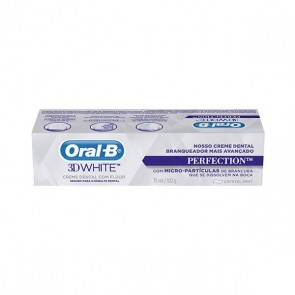Creme dental Oral B 3D White Perfection 102g
