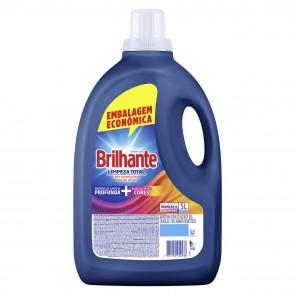 Detergente Líquido Lava Roupas Brilhante Limpeza Total 5L