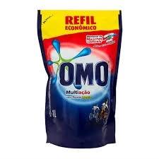 Detergente Liquido Omo Multiação Sache 1L