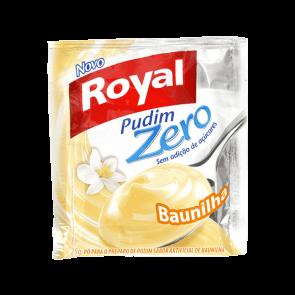 Pudim Zero Açúcar Baunilha Royal 25g