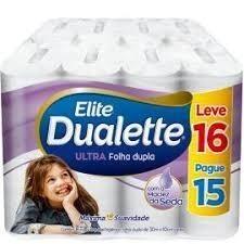 Papel Higienico Dualette 16 rolos