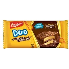 Duo Chocolate Bauducco 34g