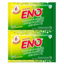 Sal de Fruta Eno Guaraná 2 Envelopes 5g