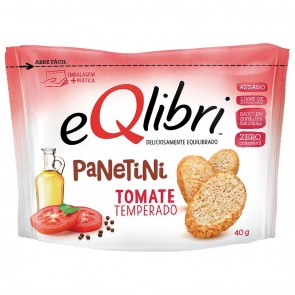 Salgadinho Panetini Tomate Temperado eQlibri 40g