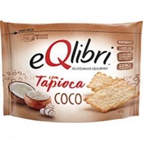 Biscoito com Tapioca e Coco eQlibri 40g