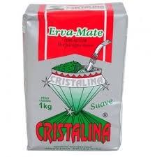 Erva Mate Suave c/açúcar Cristalina 1kg